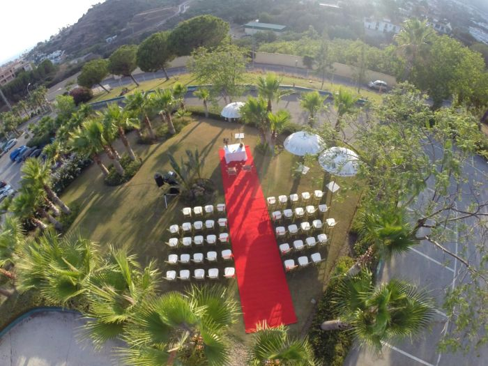 Foto (1) Vista Aerea - Ceremonia Civil FINCA LA DULZURA