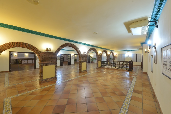 Foto Salon Obrador -Arcos (2) - FINCA LA DULZURA
